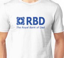 RBD The Royal Bank Of Dad Fun T-Shirt Unisex T-Shirt