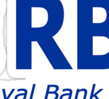RBD The Royal Bank Of Dad Fun T-Shirt Sticker