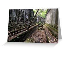 Beng Mealea temple, Cambodia Greeting Card