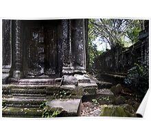 Forgotten Door, Cambodia Poster