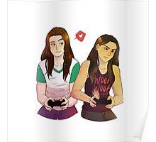 Game Buddies, Red Warrior Poster