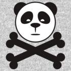 Panda and Crossbones by DwightBynumJr