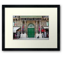 Malta 20 Framed Print