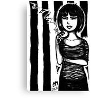 Beat Chick Canvas Print