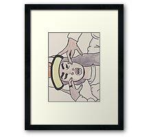 hip hop girl Framed Print