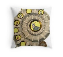Abode In A Shell Throw Pillow