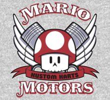 Mario Motors Kustom Karts One Piece - Long Sleeve