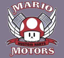Mario Motors Kustom Karts Kids Tee