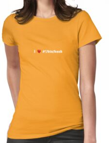Love Bash Womens Fitted T-Shirt