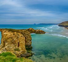 Perranporth Beach 2 by Chris Thaxter