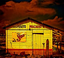 Beer Shack in Tampico by Paul Wolf