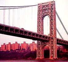 George Washington Bridge by Dennis Fehler