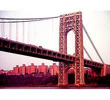 George Washington Bridge Photographic Print