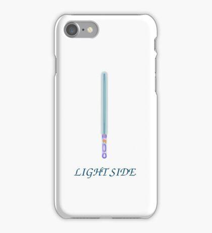 light side saber iPhone Case/Skin