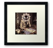 Young Scientist. Framed Print