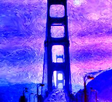 The Golden Gate Bridge by Dennis Fehler
