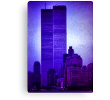 The Twin Towers Canvas Print