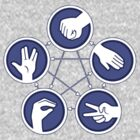 The Big Bang Theory - Rock Paper Scissors Lizard Spock by CalumCJL