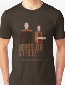 Heads or Tails? Unisex T-Shirt