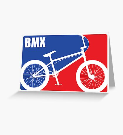 BMX Greeting Card