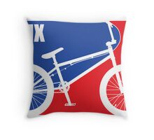 BMX Throw Pillow