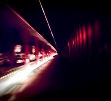 Subway Ride by Dennis Fehler