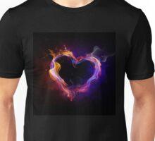 Flame Heart Unisex T-Shirt