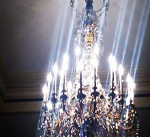 The Swooping Chandelier's Glow by Kieran Rundle