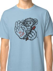Monkey Saying 'Hi Cuz' Classic T-Shirt
