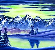 Aurora Lake by Joshua Bales