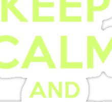 Keep Calm Kermit Sticker