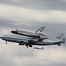 Space Shuttle Discovery by Sheryl Hopkins