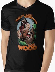 Easier Ways to Get Wood Mens V-Neck T-Shirt