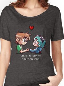 Love Worth Fighting For Women's Relaxed Fit T-Shirt