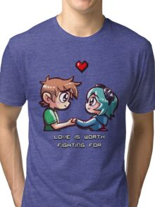Love Worth Fighting For Tri-blend T-Shirt