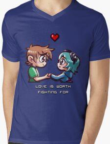 Love Worth Fighting For Mens V-Neck T-Shirt