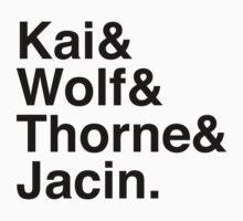 Kai & Wolf & Thorne & Jacin by Samantha Weldon