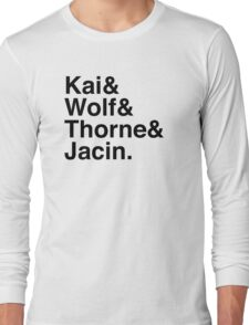 Kai & Wolf & Thorne & Jacin Long Sleeve T-Shirt