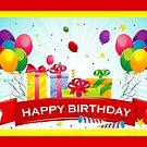Happy Birthday  by SandraWidner