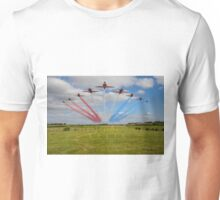Red Arrows Smoke on Go Unisex T-Shirt