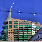 Reflection Of San Rafael Building Lisbon by manateevoyager