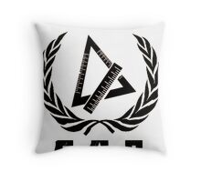 Soviet Pre Cal BW Throw Pillow