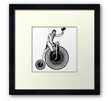 Old Timey Bike  Framed Print
