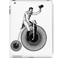 Old Timey Bike  iPad Case/Skin