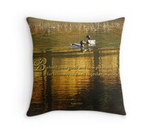 dwell in unity-Psalm 133:1(for Boston bombing victims) Throw Pillow