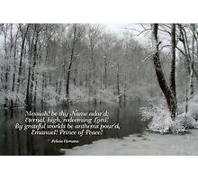 Prince of Peace Photographic Print