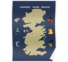 Choose Your House Poster