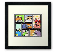 Kirby - KD3 Opening Framed Print