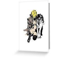Sniper Wolf Greeting Card