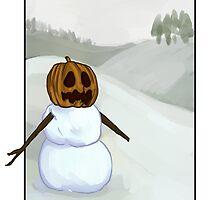 Snow Golem by Krystian Pacholczyk
